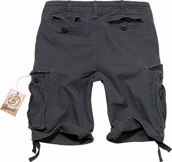 Brandit Shorts Vintage Schwarz