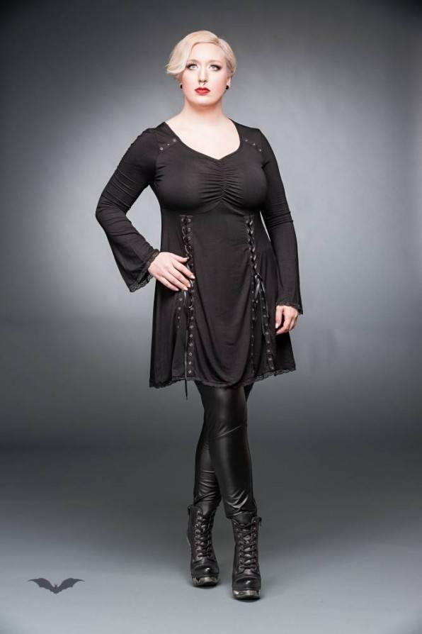 Queen of Darkness Kleid Lacing