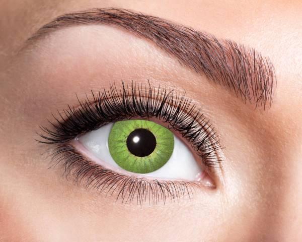 Kontaktlinsen Electro Green 3 Monate - Abaddon Mystic Store