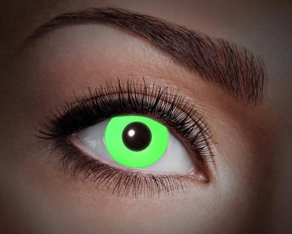 Kontaktlinsen UV Flash Green 1 Monat