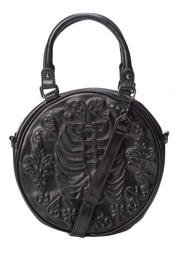 Banned Tasche Emboss Ribcage