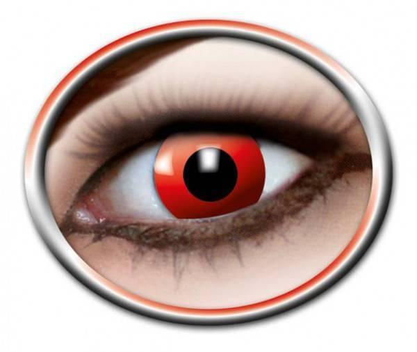 Kontaktlinsen Red Devil 3 Monate - Abaddon Mystic Store