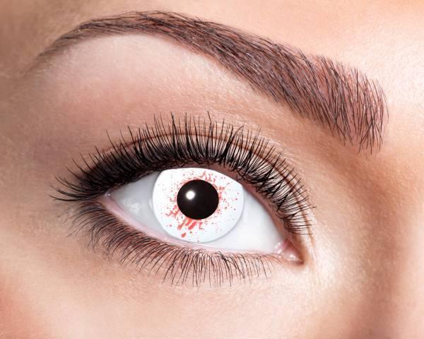 Kontaktlinsen Bloodshot 3 Monate - Abaddon Mystic Store