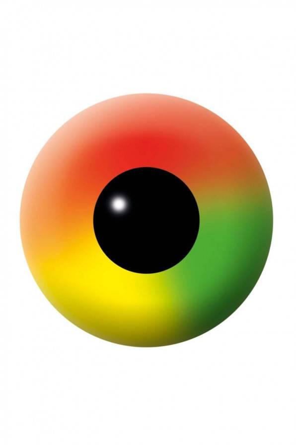 Kontaktlinsen Rainbow 3 Monate - Abaddon Mystic Store