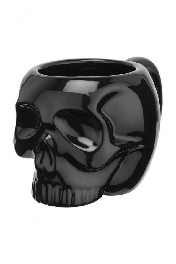 Killstar Tasse Skull Black - Abaddon Mystic Store
