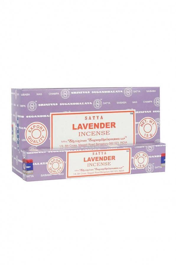 Satya Räucherstäbchen Lavender