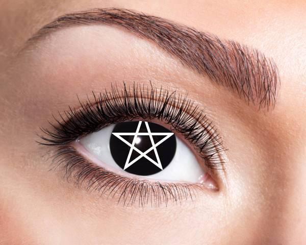 Kontaktlinsen Pentagram 3 Monate - Abaddon Mystic Store