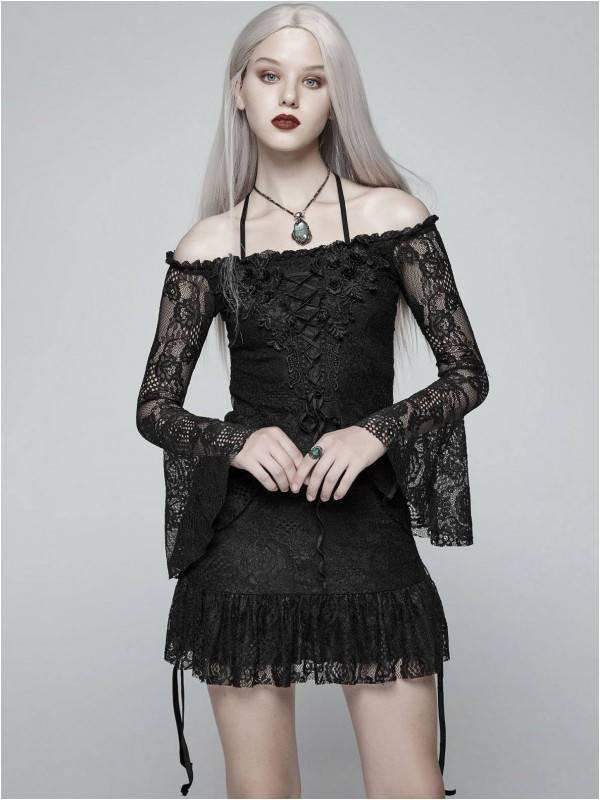 Punk Rave Kleid Delightful Gothic - Abaddon Mystic Store