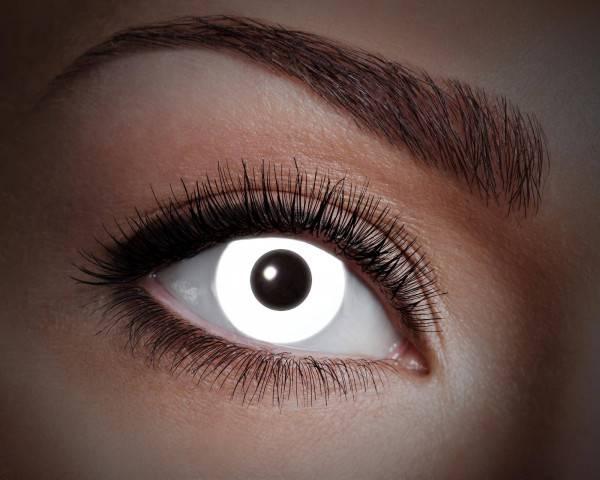 Kontaktlinsen UV Flash White 1 Monat