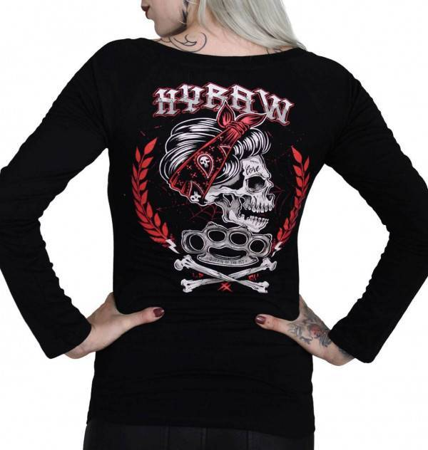 Hyraw Longsleeve Queen Of The Pit - Abaddon Mystic Store