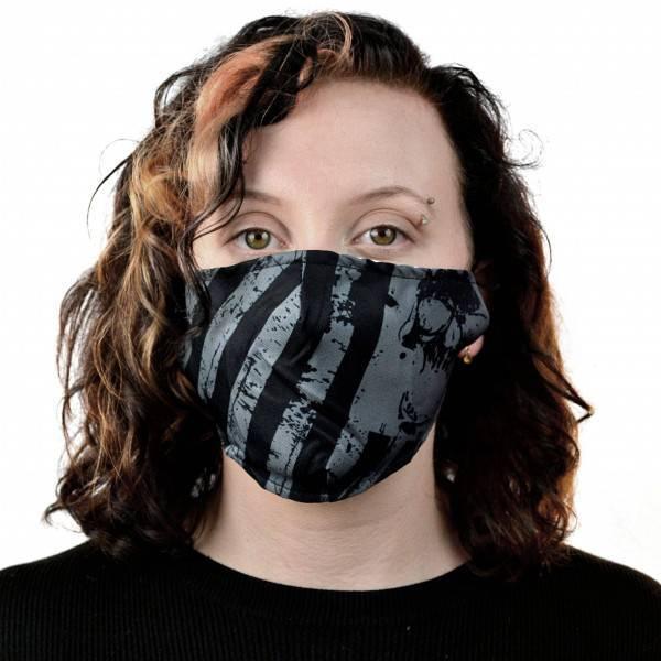 Poizen Industries Maske Stripes