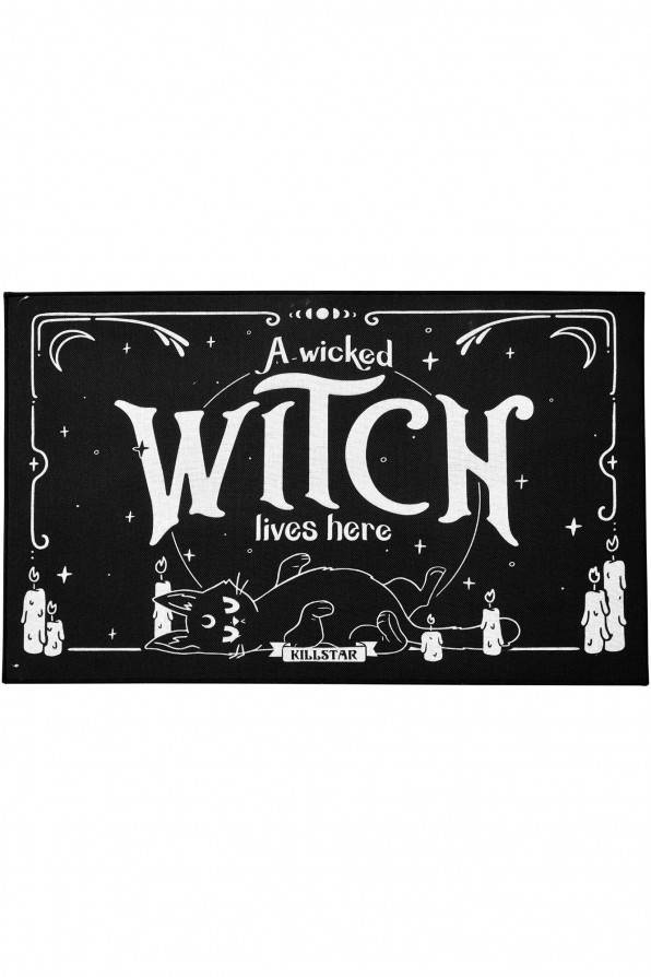 Killstar Fußmatte Wicked Witch