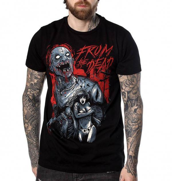 Hyraw Shirt From The Dead - Abaddon Mystic Store