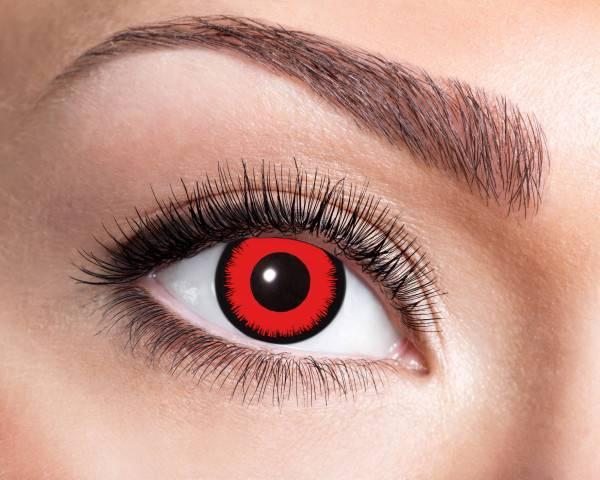 Kontaktlinsen Angelic Red 3 Monate - Abaddon Mystic Store