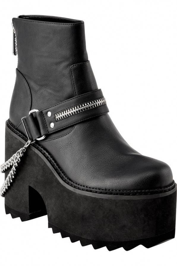 Killstar Boots Mosh Moto