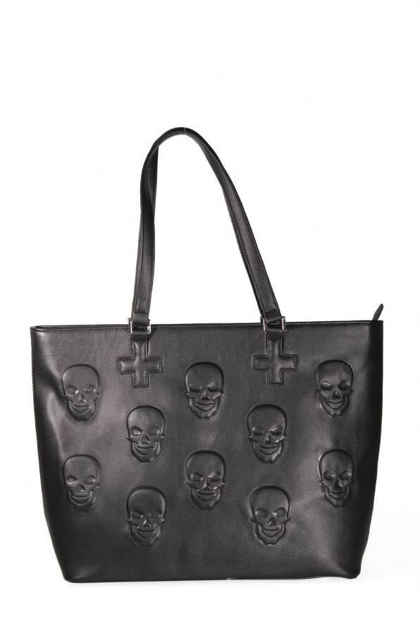 Banned Tasche Skulls & Crosses
