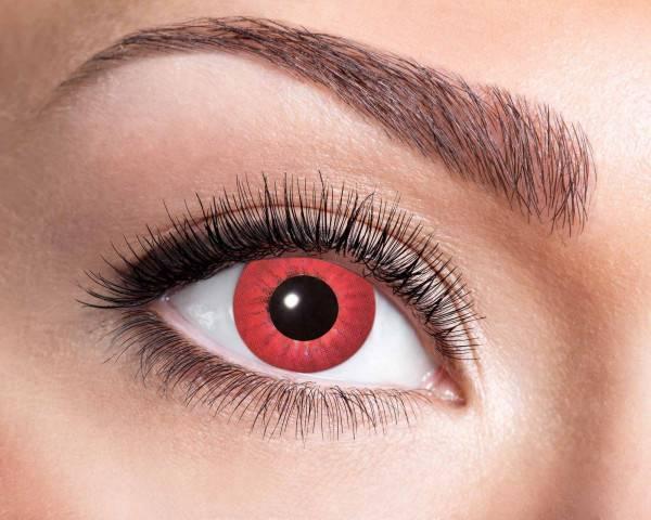 Kontaktlinsen Electro Red 3 Monate - Abaddon Mystic Store