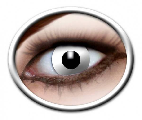 Kontaktlinsen White Zombie 3 Monate - Abaddon Mystic Store