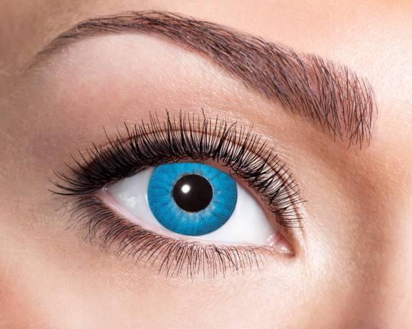 Kontaktlinsen Electro Blue 3 Monate - Abaddon Mystic Store