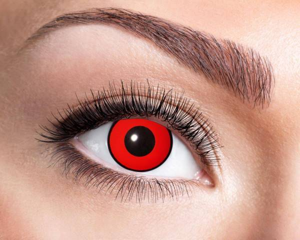 Kontaktlinsen Red Manson 3 Monate - Abaddon Mystic Store