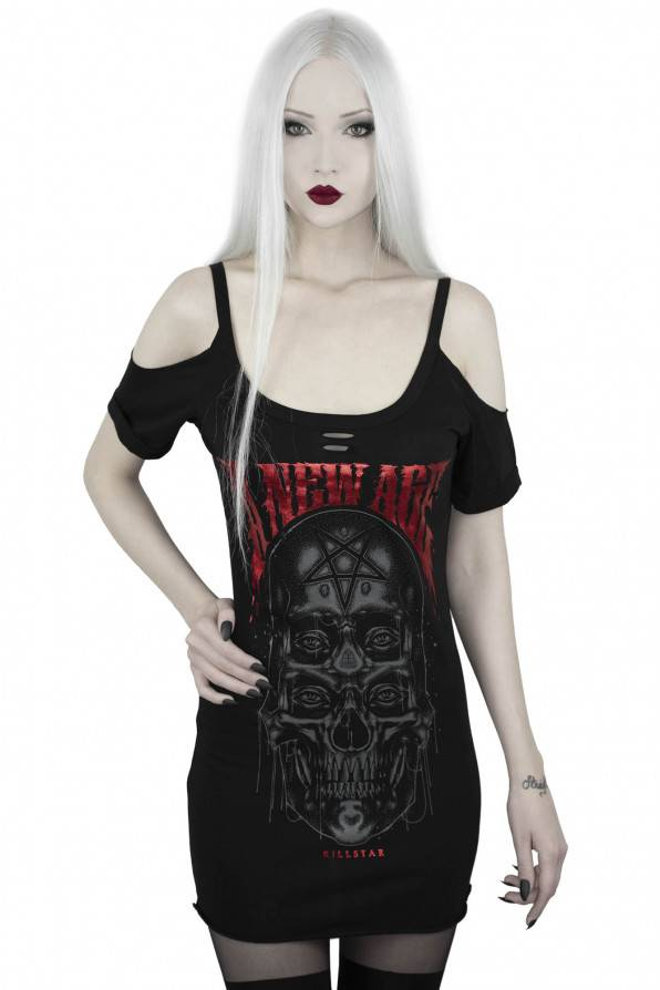 Killstar Top New Age Distress