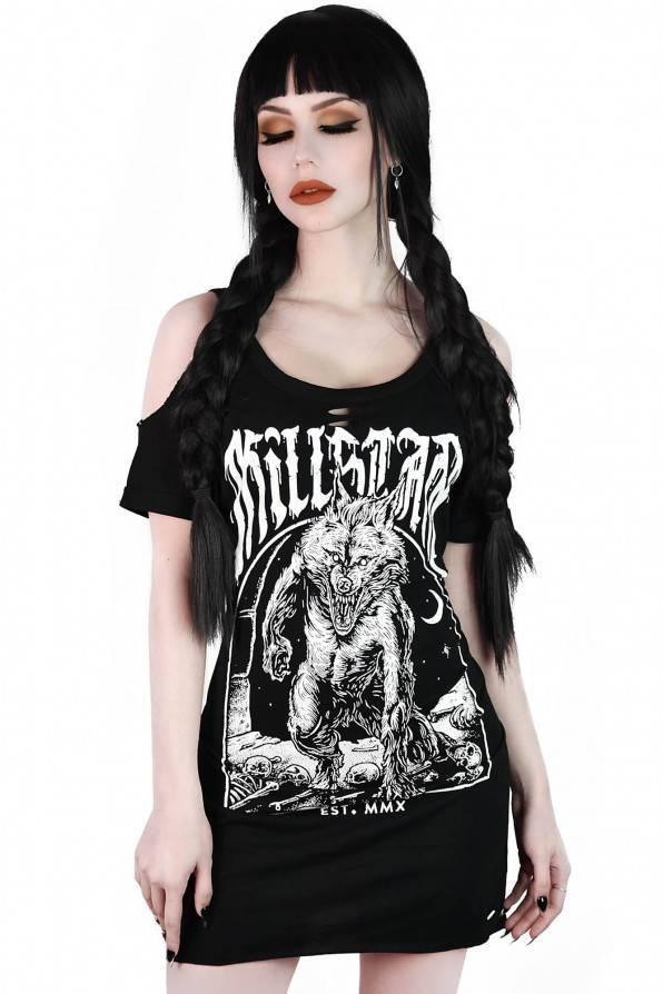 Killstar Top Hungry Distress